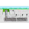 Комплект электролитического заземления (горизонтальный; 3 метра; для влажных грунтов)