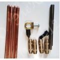 Комплект ЭК-Z-6-Т заземления для частного дома (с помощью отбойного молотка 6м.)
